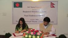 Nepal, Bangladesh sign MoU on cooperation in fields of arts and culture