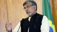 Nobel laureate Kailash launches '100 Million for 100 Million' campaign in Dhaka