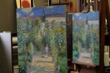 Monet paintings reunited for first time since painted