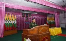 Myanmar army chief says UN has no right to interfere