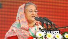 Befitting reply awaits Padma Bridge 'conspirators': PM