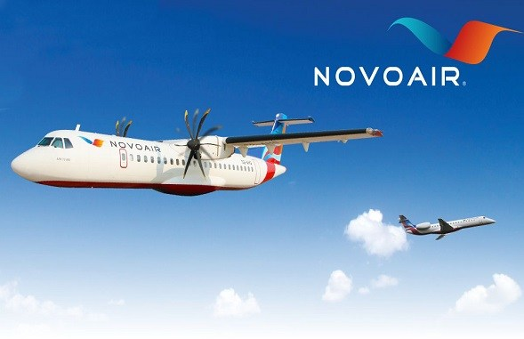 Novoair increases flight frequency on four routes