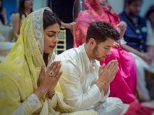 Priyanka 'welcomes' Nick Jonas to India