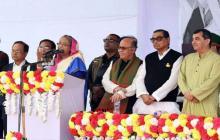 Sheikh Hasina unveils plan to upgrade slum dwellers lifestyle