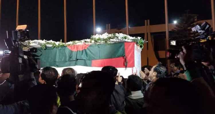 Syed Ashraf's body kept at CMH, burial today