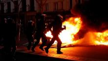 Clashes erupt in Paris as 'yellow vests' protest at unrepentant Macron