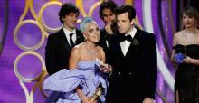 Lady Gaga wins best original song at Golden Globes