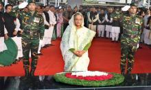 PM, new cabinet members pay homage to Bangabandhu