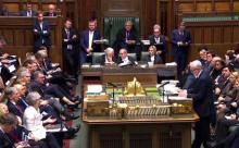 British MPs vote on Brexit deal