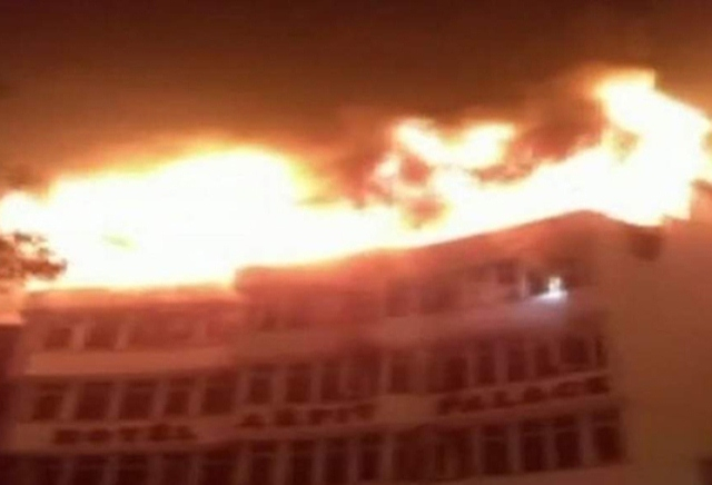 At least nine dead in India hotel fire: official