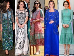 Kate Middleton's royal tour of India has already been one for the fashion record book! Here are all the outfits the Duchess of Cambridge stunned us in since April 10. (Instagram and Twitter)